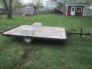 remorque ,trailer,plate-forme,6,demi,x9,$150.00,,514 234 9444