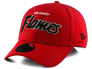 Brand New Calgary Flames New Era 39Thirty hat/cap
