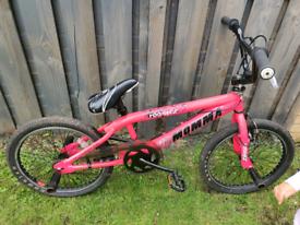 Bright Pink BMX