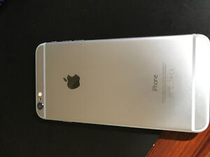 silver iPhone 6plus  128g - unlocked  - no scratches or dents