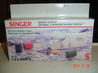 """SINGER HANDY STITCH"" MODEL CEX300KN IDEAL FOR EMERGENCY REPAIRS"