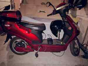 Red Electric Bike E-Bike Stinger w/ Charger