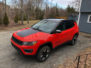 Hard Core Meets Comfort: 2018 Jeep Compass Trailhawk  edition