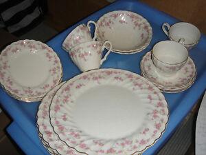 Vintage  Dishes: BRIDES BOUQUET, myott, ENgland, for 4