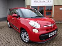 2014 (64) Fiat 500L 1.3 MultiJet ( 85bhp ) ( s/s ) Pop Star MPW (7st) - Red