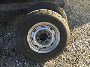 Tires for sale good shape LT 225/7516 London Ontario image 1