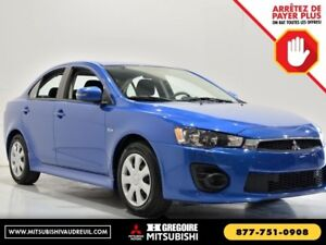 2017 Mitsubishi Lancer ES CVT Bluetooth Camera Sieges-Chauf USB/