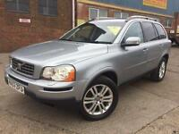 Volvo XC90 2.4 AWD SILVER 2007 D5 SE Automatic Diesel 7 Seater RARE LEATHER