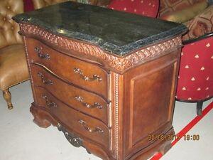 Marble top dresser/hudge/cabinet