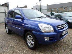 Kia Sportage 2.0 CRDi XS (blue) 2006