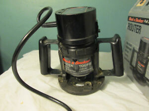 black and decker router and bits