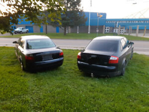 Audi a4 2003 and 2004 two car for 2000$ ( new mvi ,runs,drive)