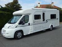 Autocruise AUGUSTA, 2008, 4 Berth, Fiat 3.0D, AUTOMATIC, Twin Fixed Beds, VGC!
