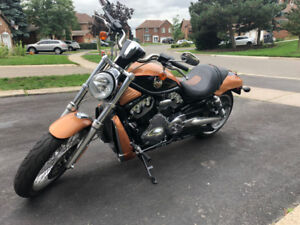 HARLEY DAVIDSON VROD 105-ANNIVERSARY EDITION - 2008 (LIKE NEW)