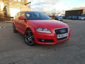 AUDI A3 FACELIFT 1.9 TDIE,HPI CLEAR,CAMBELT CHANGED,1 YEAR M.O.T,2 OWNER,£30 ROAD TAX,18 INCH ALLOYS