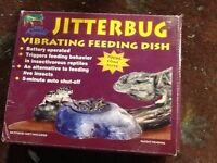 Jitterbug reptile dish