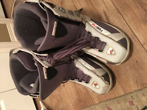 Firefly size 9 ladies snowboard boots and Lamar snowboard