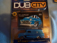 DUB CITY 1/64 SCALE 3 CAR LOT