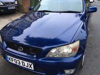 LEXUS IS200 SPORT AUTO 4 DOORS SALOON