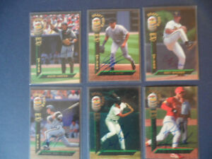 AUTOGRAPH BASEBALL CARD LOT  1994 SIGNATURE ROOKIES