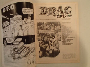 DRAG CARTOONS May 1972. Jack In the Box, LiL' John Sarnia Sarnia Area image 3