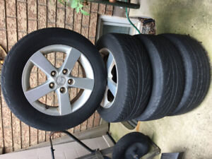 Mazda rims and tires