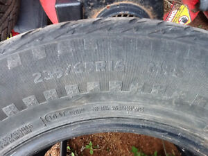 """235-65-16"""" Set of 4 Studded Winter Tires For Sale"""