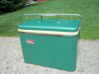 RETRO COLEMAN ALL METAL COOLER