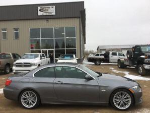 2011 BMW 335i CONVERTIBLE LTHR, AUTO, NAV, HTD SEATS