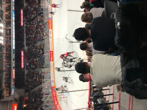 2 Lower Bowl Moosehead Tickets Game 1 Friday March 22 vs Quebec