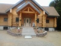 Log House For Sale