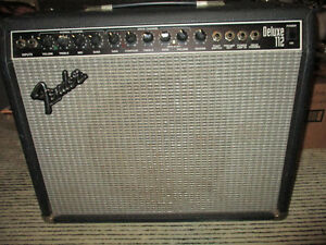 Vintage Fender Deluxe 112 Amplifier--Made in the USA--200 watts Kitchener / Waterloo Kitchener Area image 6