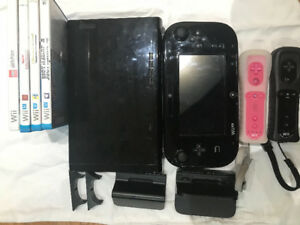 Wii U 32 gb + games in excellent condition