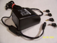 Ambico D-0920 AC Multi-Voltage Adapter for Digital Camera
