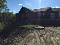 Beautiful New Bungalow on 40 Treed Acres!