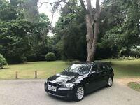 2007 BMW 318 2.0 SE Turbo Diesel Touring 5 Door Estate Black