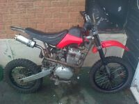 Ghost 250cc pit bike