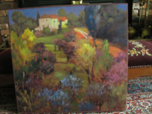 Impressionist style oil