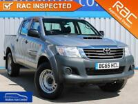 Toyota Hilux 2.5 Active 4X4 D-4D Dcb 2015 (65) • from £88.91 pw