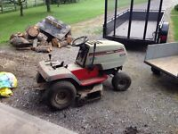 Ride on tractor, ride on mower, lawnmower