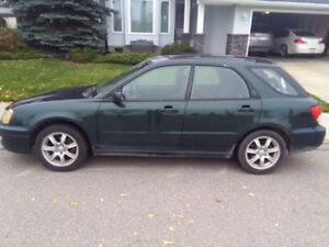 2004 Subaru Impreza - need gone ASAP - head gaskets blown