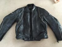 Texport leather motorcycle jacket