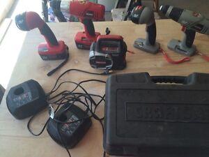 Craftsman 19.2 V drill sets