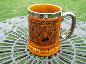 Lord Nelson Pottery vintage Steined Mug made in England coach 2 West Island Greater Montréal image 1
