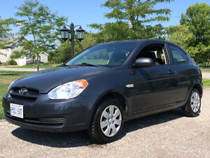 2011 Hyundai Accent Hatchback $4600 Certified & E tested low KMS