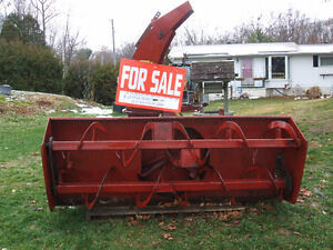 International 80 Dual Auger Snowblower Kingston Kingston Area image 1