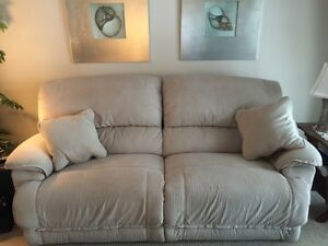 Lazy Boy Power Recliner Sofa and Chair & a Half