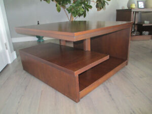 COFFEE TABLES AND 2 END TABLES