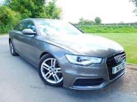 2012 Audi A6 2.0 TDI S Line 4dr Multitronic Low Miles! 18 Alloys! 4 door Sal...