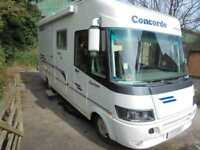 1999 Concorde Charisma 4 Berth A Class End Washroom Motorhome For Sale 13625
